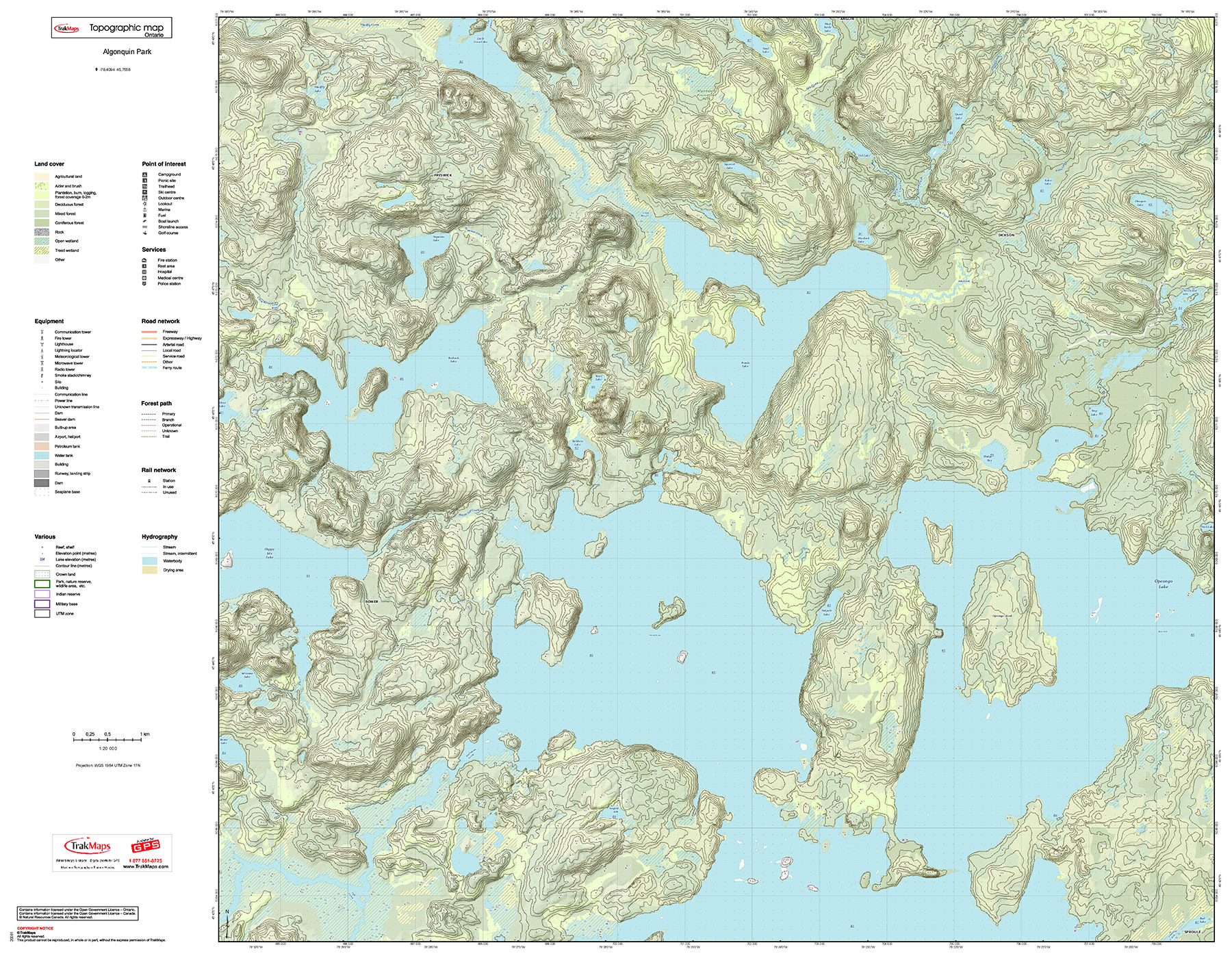 examples learn more topographic map