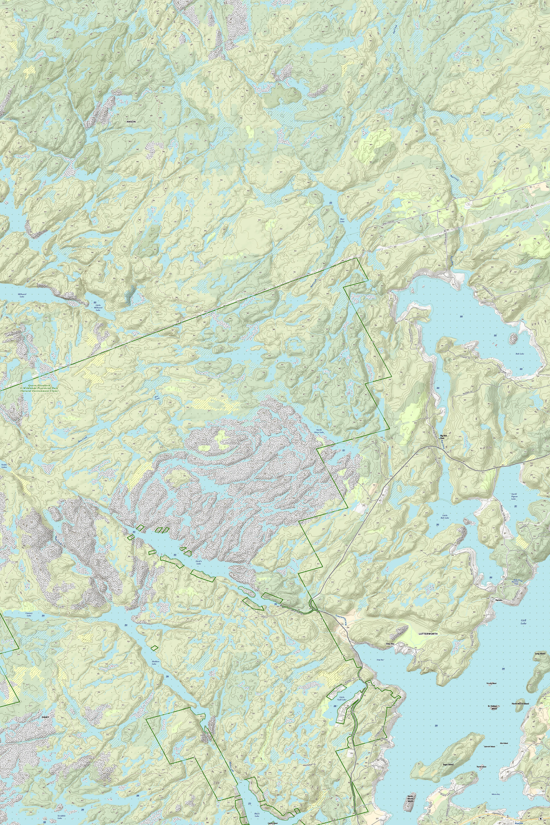 Example 1 of Topographic Map