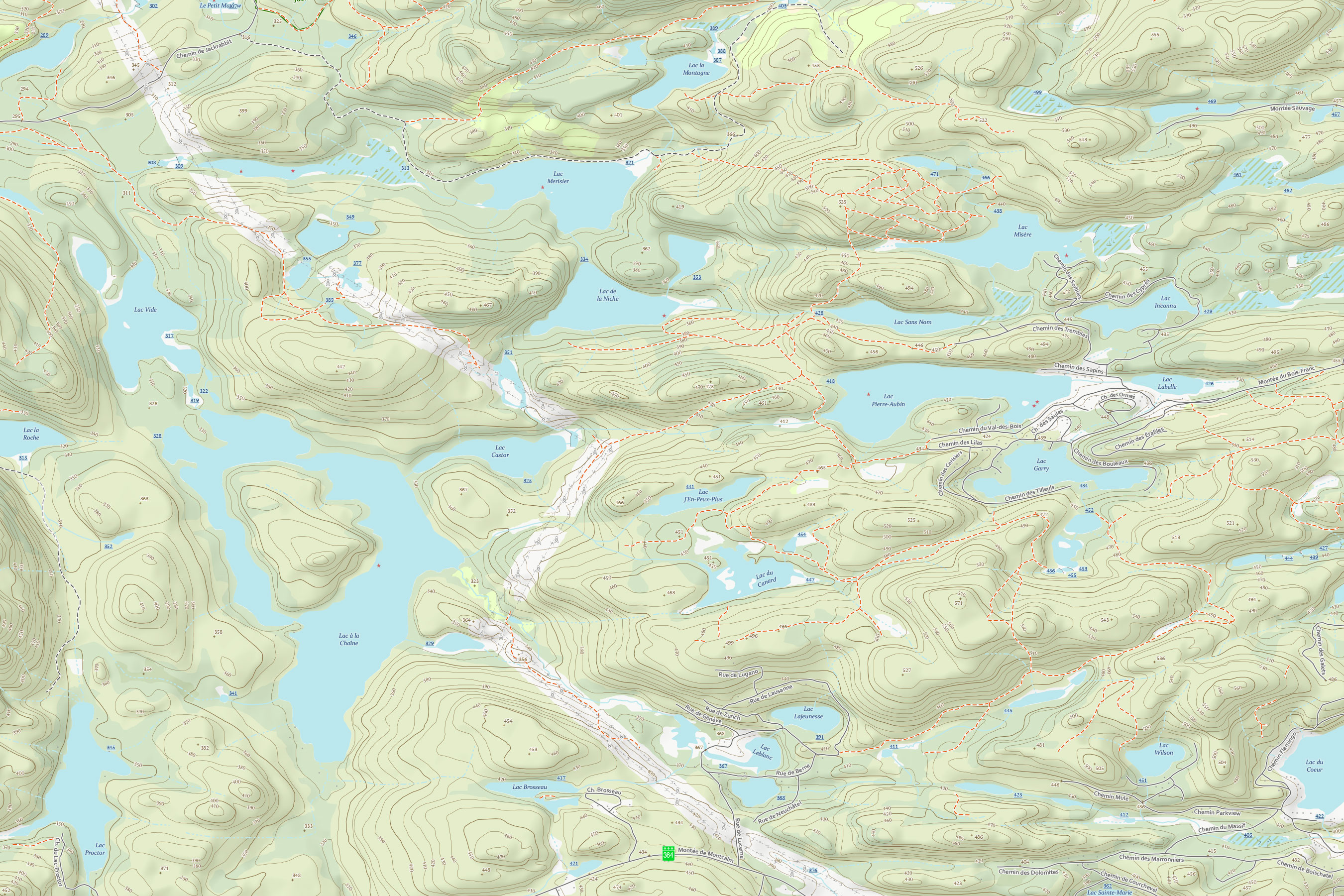 Example 2 of Topographic Map