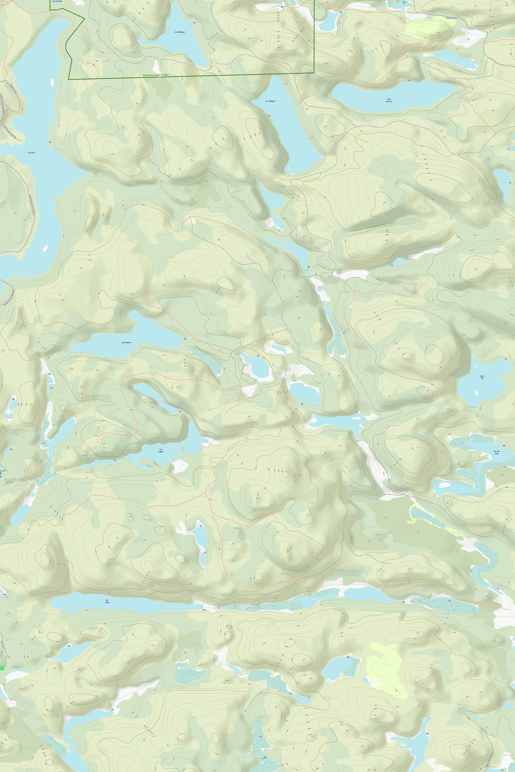 Example 3 of Topographic Map