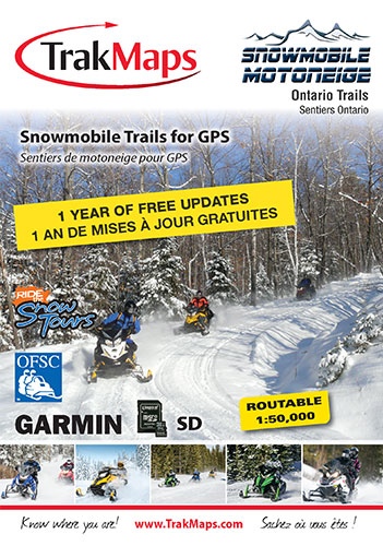 Snowmobile Ontario for Garmin GPS units