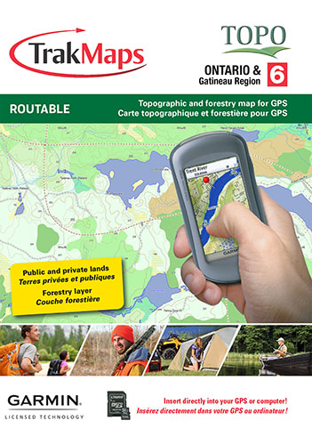TOPO Ontario for Garmin GPS units