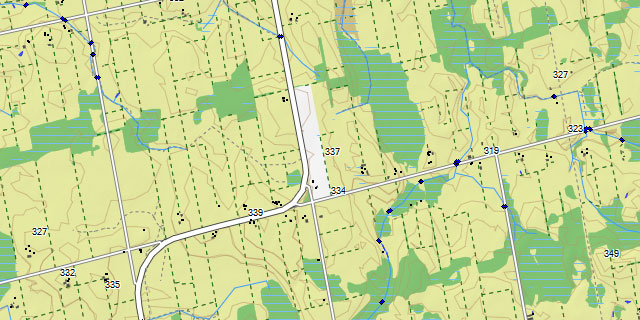 Ontario Topographic Map.Topo Ontario Map For Garmin Gps Including Crown Land Forestry Layer