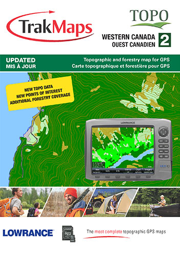 Complete Map Of Canada.Topo Western Canada For Lowrance Gps Units